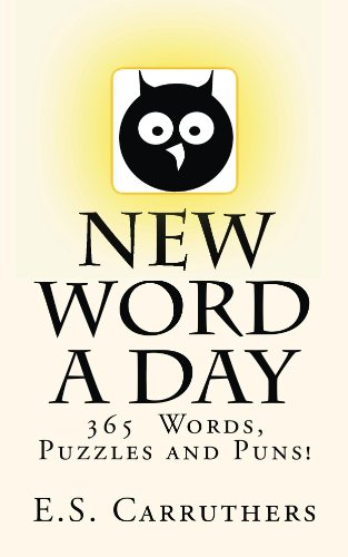 New Word A Day: Vocabulary and Riddles (English Edition) por Elliot Carruthers