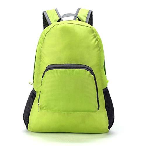 20L Faltbare Männer Frauen Wasserdichte Rucksack Leichte Einfarbige Reise Camping Wandern Trekking Taschen Schultasche