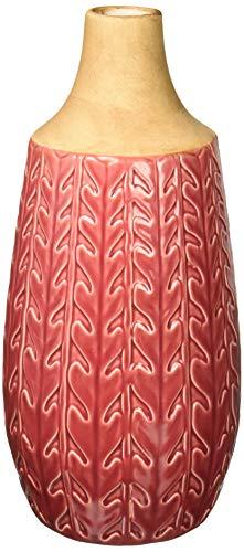 Imax Clara Vase, Keramik, rot Medium Clara Vase