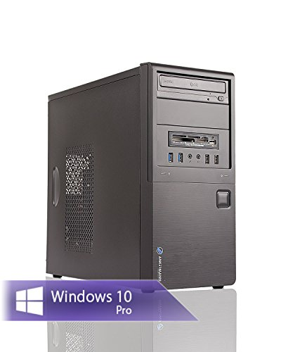 Ankermann-PC Work Business Office Happy Day PC, 24 Monate Garantie, AMD FX 4300 4x3.8GHz, GeForce GT 710 2GB, 8GB RAM, 240GB SSD, 1TB HDD, Windows 10 Pro