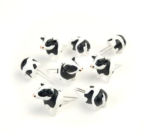 Charcoal Companion Cow Corn Holders (Set of