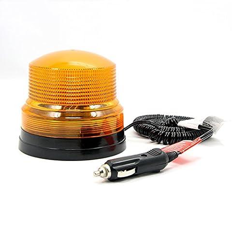 Strobe Light Magnetic Beacon Amber Flash Warning light Emergency Light for Police Firemen Lamp Waterproof Orange