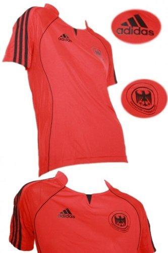 Adidas Damen DHB GER FED Trikot HANDBALL (613529) rot/ schwarz Rot