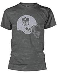 c815aea36 NFL  Helmet Shield  Burnout T-Shirt Grey