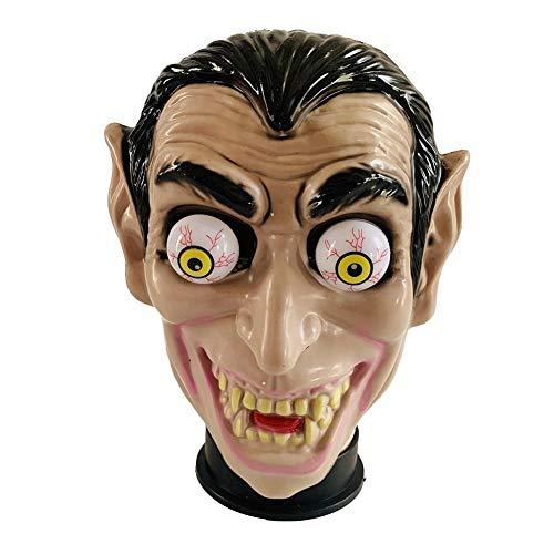 Augapfel Kopf Kostüm - Desirabely Halloween Augapfel Horror Maske Vollgesichtsschutz