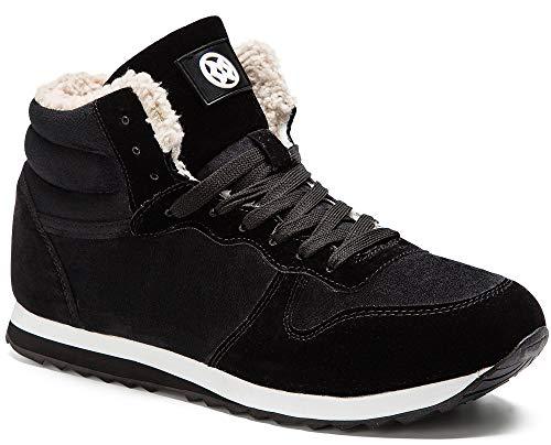 Gaatpot Zapatos Invierno Botas Forradas de Nieve Zapatillas Sneaker Botines Planas para Hombres Mujer...
