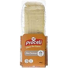 PROCELI pan de molde sin corteza y SIN GLUTEN envase 390 gr