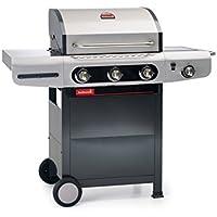 Barbecook 2239231000 Barbacoa de Gas Siesta 310, Gris, 80x76x52.6 cm