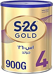 Wyeth S-26 ProKids Gold Stage 4, 3-6 Years Premium Milk Powder Tin for Toddlers, 900g - Promo Pack