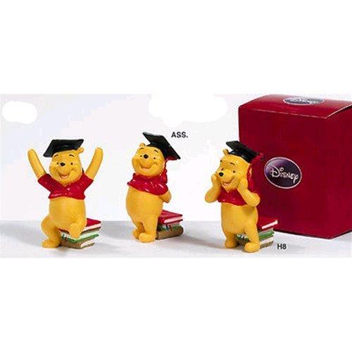 Bomboniere Disney resina Winnie The Pooh laureando 8 cm