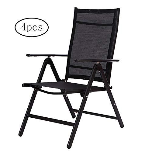 Wicker Deck (XUE Deck Chair, Lunch Break Chair Office Napping Mesh Chair Computer Chair Summer Leisure Beach Chair Dining Chair Dining Chair and Comfort Durable Simple (Carton of 4))