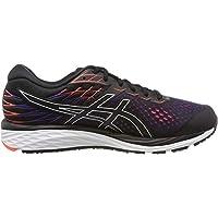 ASICS Gel-Cumulus 21, Men's Road Running Shoes, Multicolour (Black/Flash Coral), 42 EU