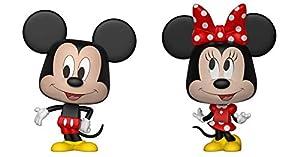 Funko 26673 VYNL - Paquete de 2 Unidades de 10 cm, diseño de Mickey y Minnie, Multicolor