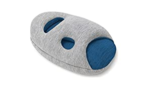 Ostrich Pillow Mini Travel Pillow for Airplane Head Support - Travel Accessories for Hand and Arm Rest, Luxury Power Nap Pillow for Flight and Desk