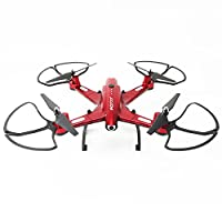 Hanbaili FQ02W 2.4GHz Foldable WiFi Drone with HD Camera Video,8-10 Minutes Flight Time 3D Flip Drone for Beginners