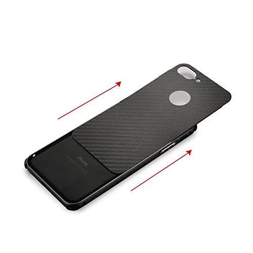 Meimeiwu 2 in 1 PC + Metall Dual-Werkstoff Telefon Rüstung Bumper Protictive Case hülle/tasche/Schutzhülle für iPhone 7 Plus - Rose Gold Gold