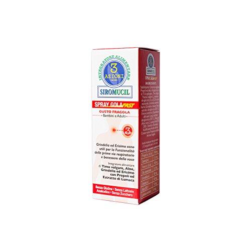 Siromucil 3 Azioni Integratore Alimentare Balsamico - 15 ml