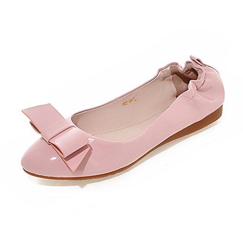 fashion chaussures de Dame egg roll/escoge los zapatos/boucle côté appartements/Scoop doux des femmes enceintes par le bout du Soulier A
