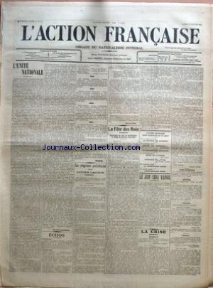 BRIE (LA) [No 2919] du 13/10/1911 - LE MIEUX ETRE PAR LOUIS LATAPIE - LA RENTREE DES CHAMBRES - LIBERTE COMMERCIALE OU COLLECTIVISME - UNE METHODE D'ALIMENTATION NOUVELLE - LA POMME DE TERRE RAPEE A LA MACHINE PAR J.-NICOLAS DRUSSE - PETITES NOUVELLES - SEINE-ET-MARNE - MESSAGERIES PAR AUTOMOBILES - CHEMINS DE FER DE L'EST - CONCOURS INTERNATIONAL DE MUSIQUE A PARIS - L'ALERTE - LE SIGNAL PAR LE CAPITAINE DANRIT.