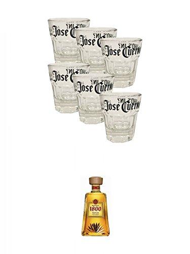 jose-cuervo-who-is-in-shot-glser-6-stck-klein-bauchig-1800-jose-cuervo-tequila-reposado-07-liter