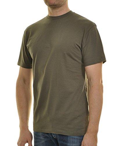 Ragman Herren T-Shirt Singlepack Oliv