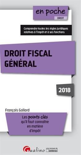 Droit fiscal général