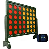Big Game Hunters 517 Jumbo 4 in a Row Wooden Giant Connect 4 Counters Garden Game, 75 Centimetres Tall