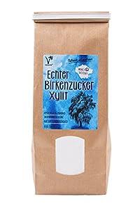 Kräuterladen Echter Birkenzucker (Xylit), natürlicher Zuckerersatz ohne Mais...