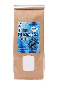 Kräuterladen Echter Birkenzucker (Xylit), natürlicher Zuckerersatz ohne Mais aus Finnland (1 x 1kg)