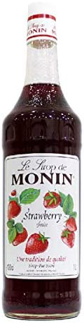 Le Tirop De Monin Strawberry Syrup, 1 Litre