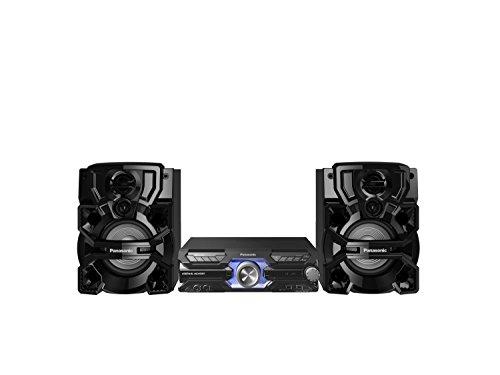 Panasonic SC-AKX710E-K Mini Musiksystem (CD, Bluetooth, Radio Tuner (FM), USB, AUX-IN, DJ Jukebox, 2.000 Watt RMS, Karaoke-Funktion) schwarz