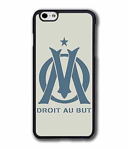 Coque iPhone 6 ( 4.7 pouce ) & Olympique De Marseille Coque Olivedes® ( Foot France), Football Logo ( Joueur de Foot ) - Olympique De Marseille ( FC ) Swag Ado Fille Solide Coque Cover / Case pour iPhone 6 / iPhone