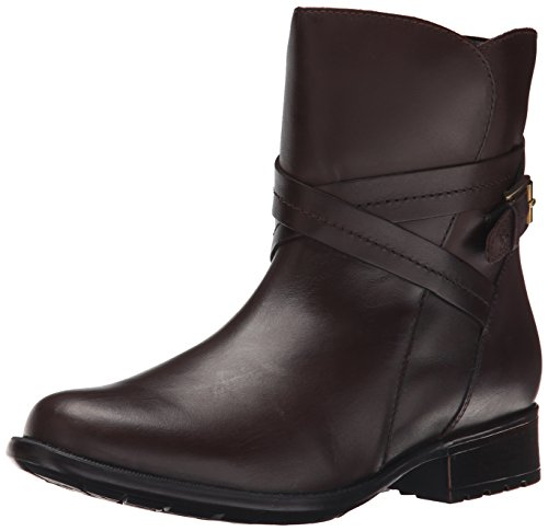 Clarks Plaza-Platz-Boot Brown Waterproof Leather