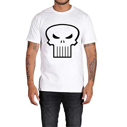 Sommer Kurzarm T-Shirts Top T Bluse Beiläufige Dünne Sport T-Shirt Männer Jungen T-Shirt Top,3D Gedruckter Wolfskopf auf Weiß - EIN weißes 4XL 6-tier-system Bin