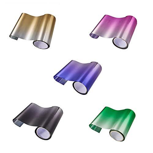 wall-8-CC 20 cm x 150 cm Autoschutzfolie, Auto-Tönungsfolie, Frontscheibe, Sonnenschutz, Folie, Farbe, Schwarz