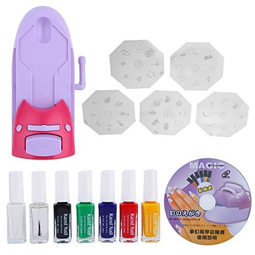 Impresora de patrones de arte de uñas