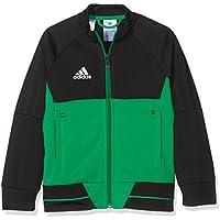 adidas BQ2613 Chaqueta, Niños, Negro/Verde/Blanco, 116 (5/6 Años)