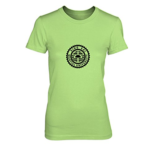King Kai Kostüm - DBZ: King Kai University - Damen T-Shirt, Größe: L, Farbe: hellgrün