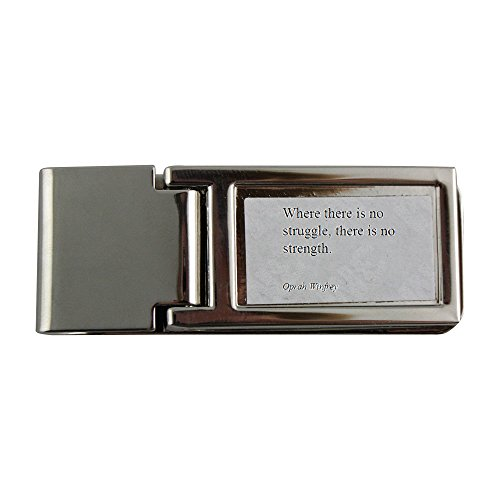 metal-money-clip-with-oprah-winfrey-where-there-is-no-struggle-there-is-no-strength