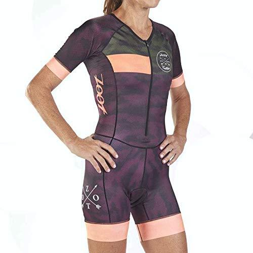 Zoot Damen Triathlon Rennanzug W LTD Tri Aero SS Race Suit - CAMO M