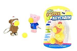 Toi-Toys-Animales Boules-Popper Trousseau 3Varios Figura, 35026z