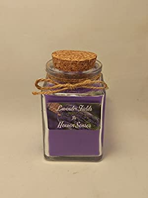 Small Lavender Scented Candle by Heaven Senses 4 oz
