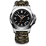 Victorinox Uomo FieldForce Sport Cronografo - Orologio al quarzo analogico in acciaio inossidbile fabbricato in Svizzera 2418