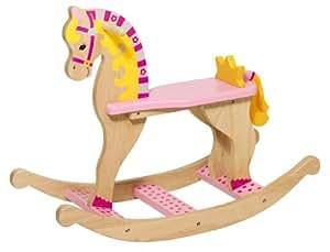 Goki jeux Cheval à bascule Princesse