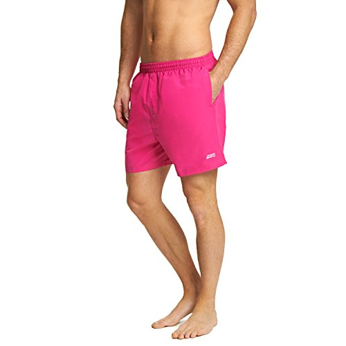 Zoggs Herren Penrith Shorts, Rose, L