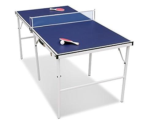 Table Multi Jeux 5 En 1 - HLC Tennis de Table-154*77*69cm Ping Pong Table