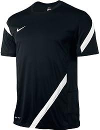 Nike Comp 12 T-shirt de sport pour homme S Noir - Noir