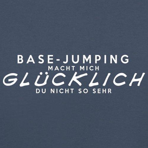 Base-Jumping macht mich glücklich - Unisex Pullover/Sweatshirt - 8 Farben Navy