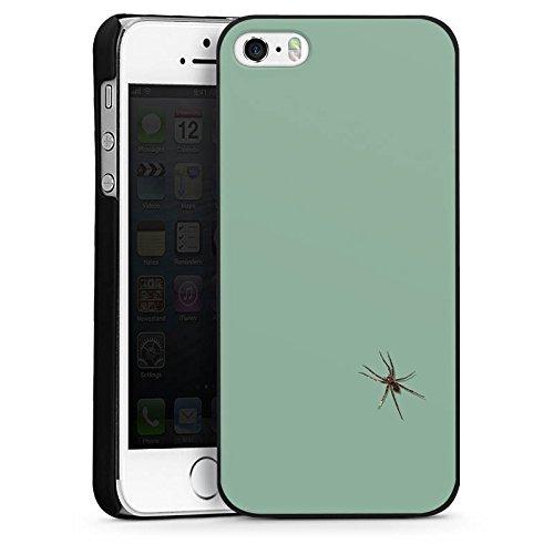 Apple iPhone 6 Housse Étui Silicone Coque Protection Araignée Insecte Araignée CasDur noir