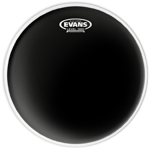 Evans TT14CHR Black Chrome Tom/Snare Fell (14 Zoll)